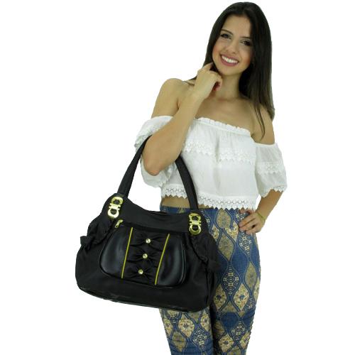 6c21e9c80 Bolsa FBF Linha Popular TOP 770-990 Preta - Fabrica de Bolsas Femininas  Atacado